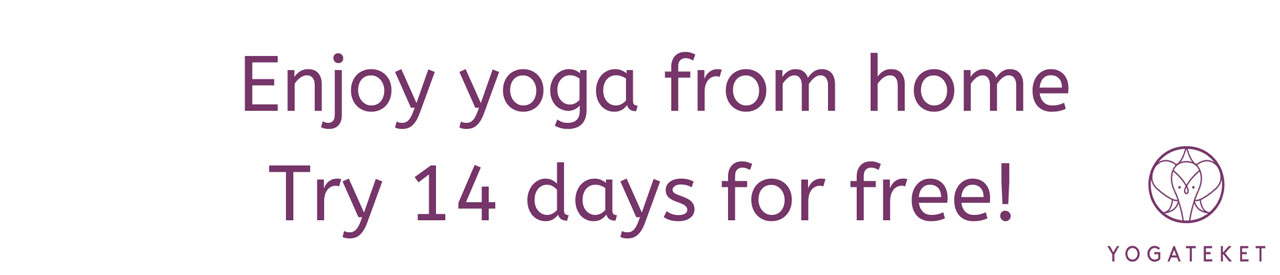 Try our yoga online for free