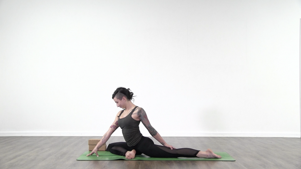 King of the Pigeons: Eka Pada Rajakapotasana_1
