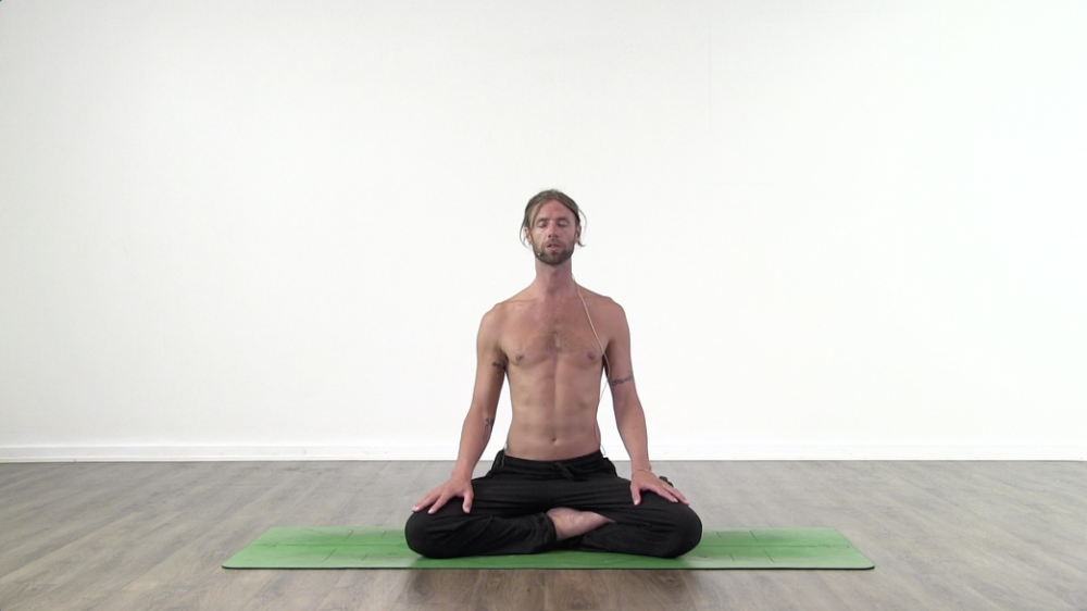 15 Minute intermediate Yoga Breathing class_0