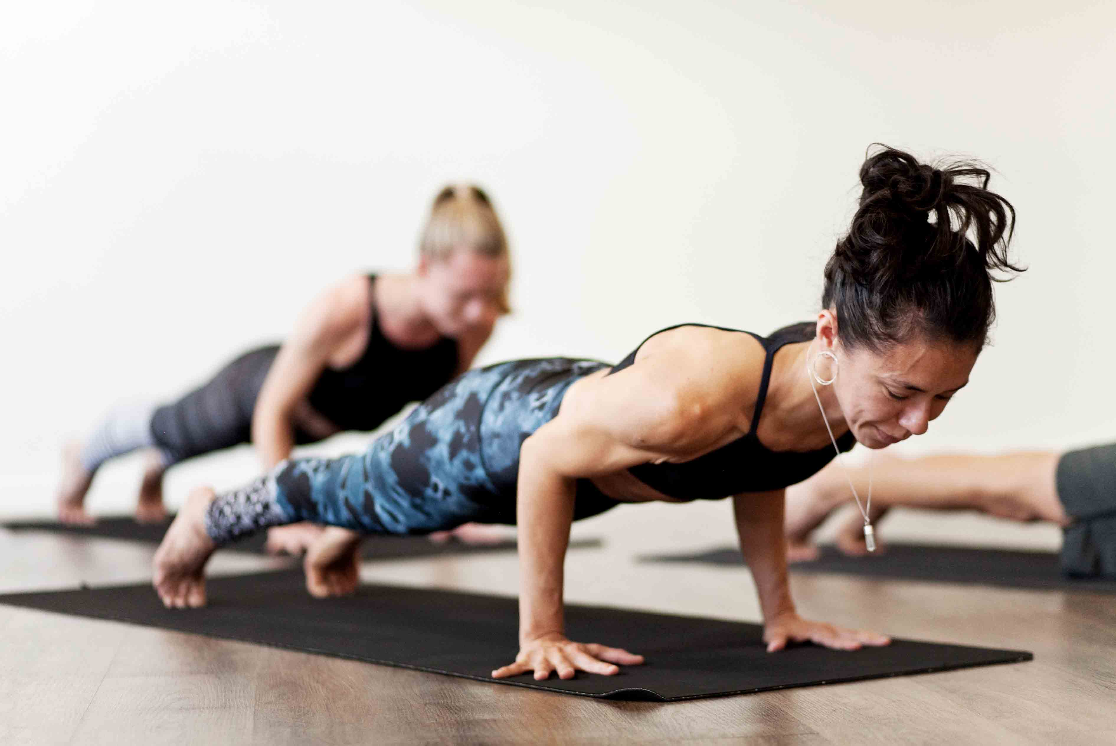 Chaturanga Dandasana - Four-Limbed Staff pose