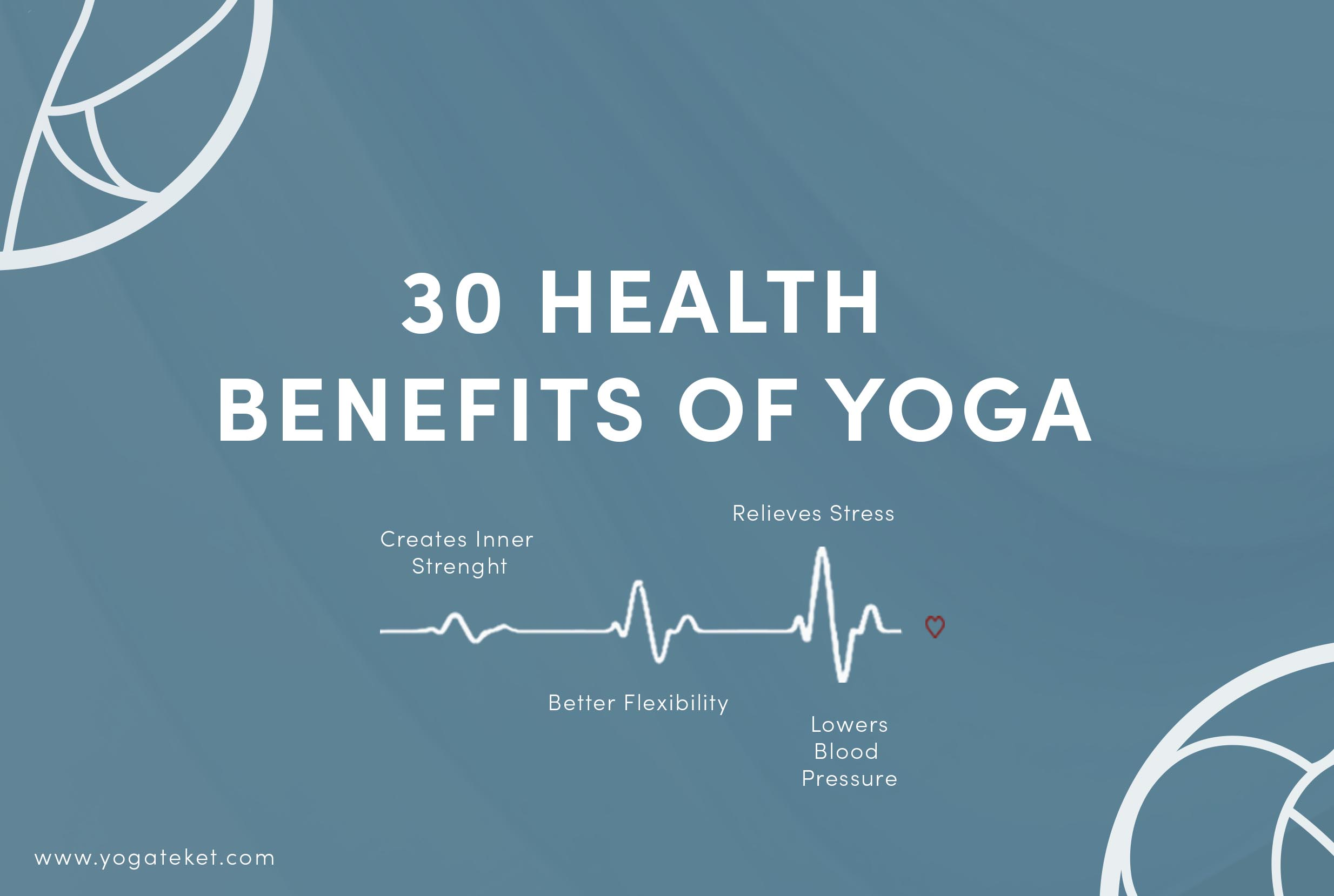 30 Health Benefits of Yoga - Yoga benefits List