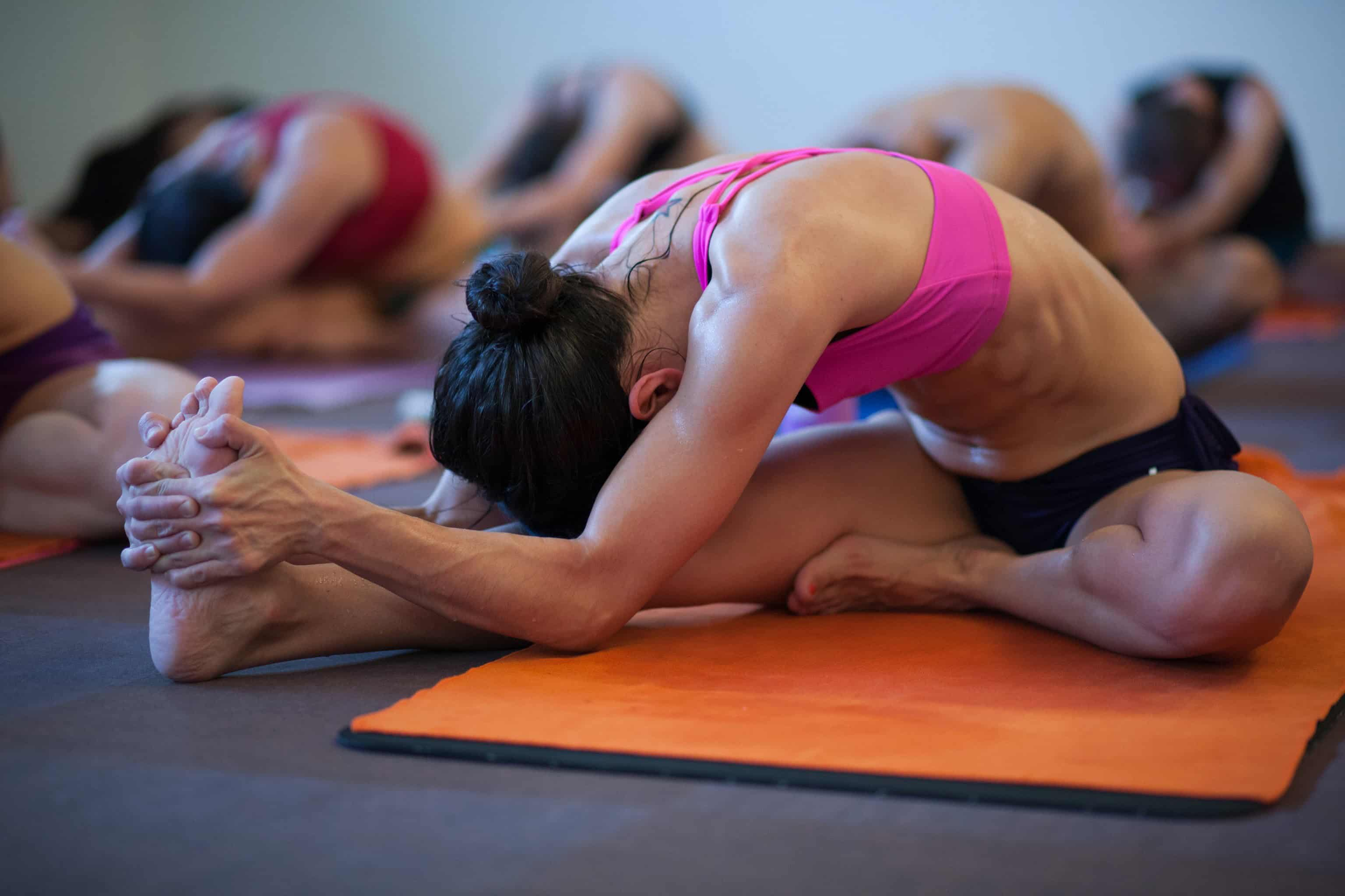 Janu Sirsasana - Head to knee pose