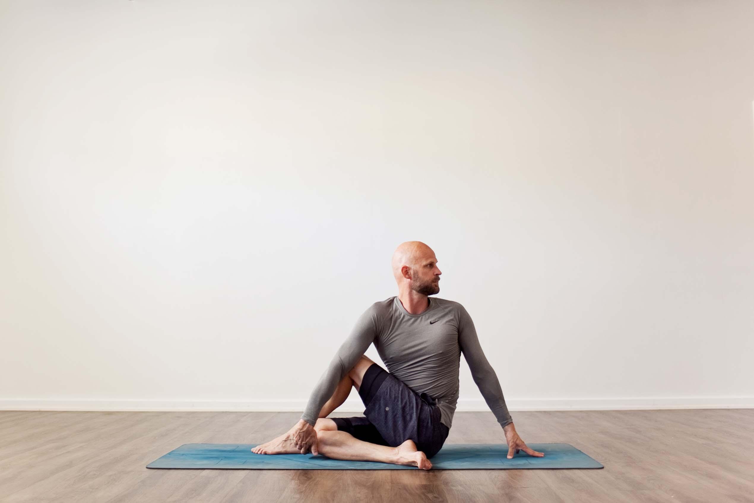 Ardha Matsyendrasana - Spine Twisting Pose