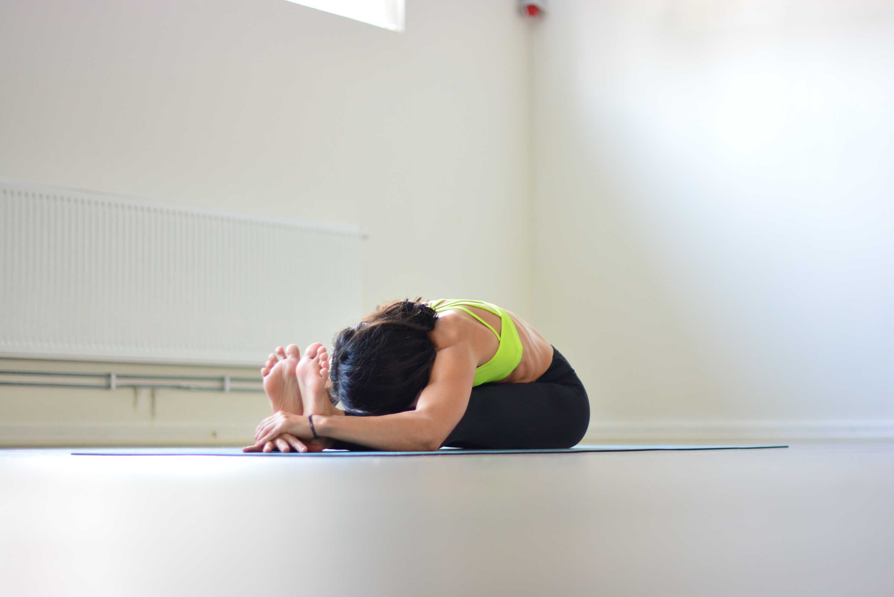 Paschimottanasana - Seated forward bend pose