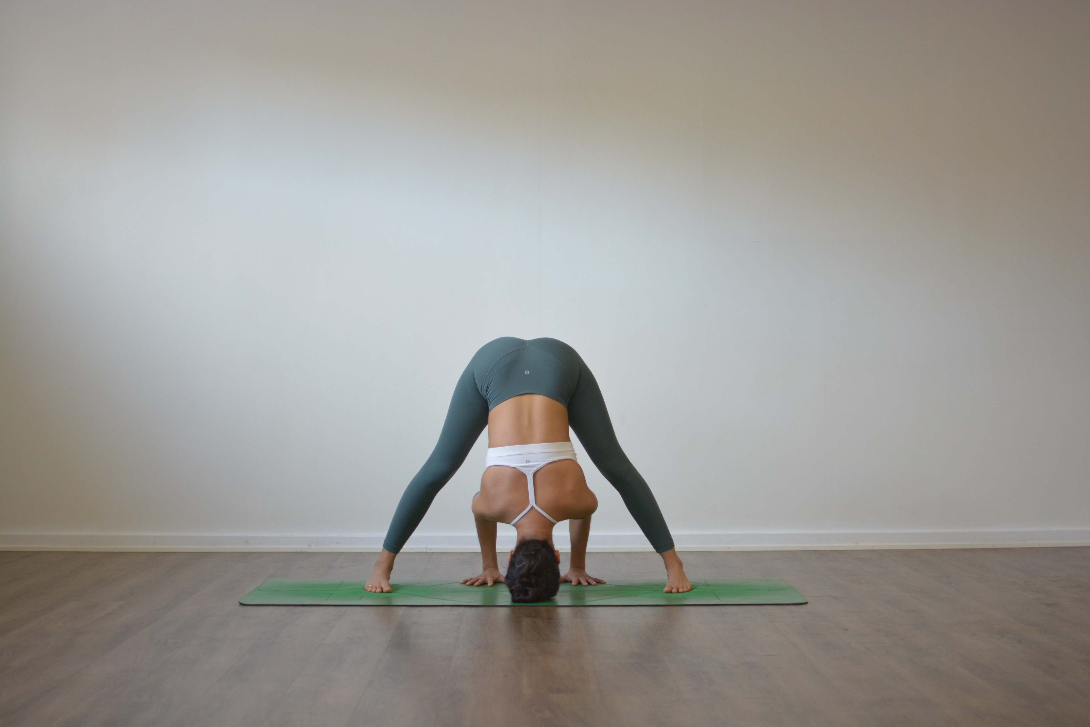 Prasarita Padottanasana - Wide Legged Forward Bend Pose