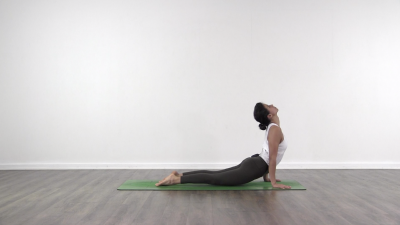 Upward facing dog ashtanga yoga