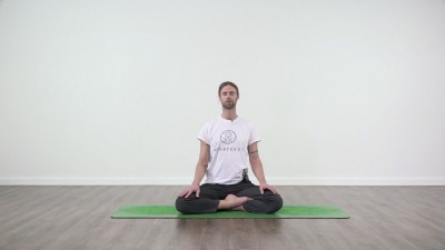 Meditation in practice at Yogateket with Guy Powiecki