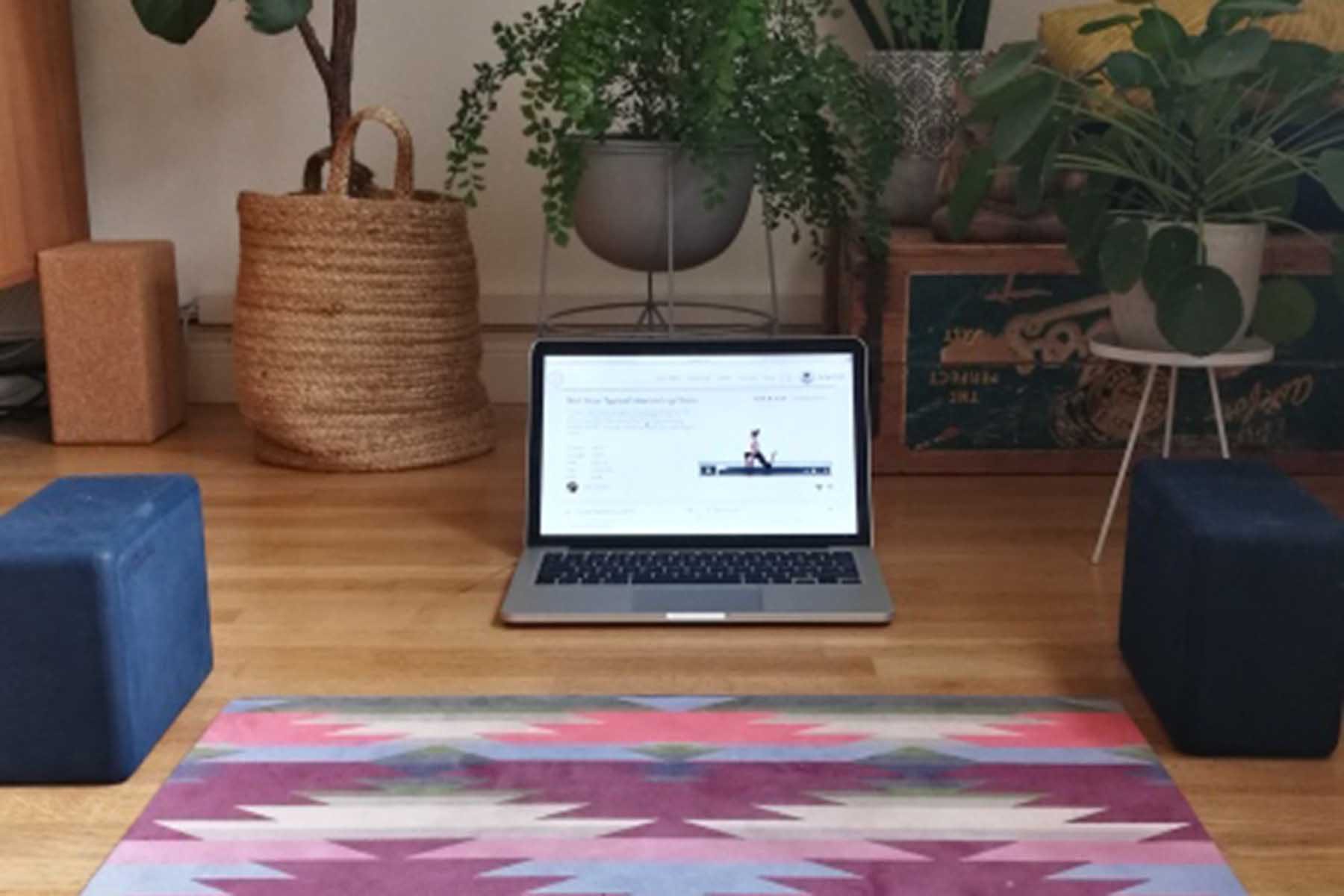 Online Yoga at home - 13 Tips that will get you started ...
