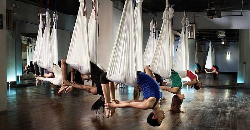 Areal yoga