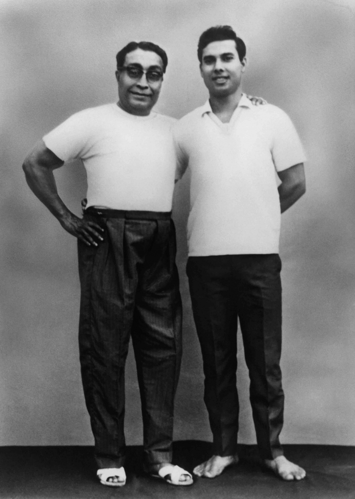 Bishnu Ghosh and Bikram