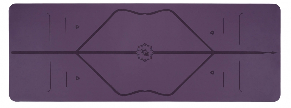 liforme yoga mat purple