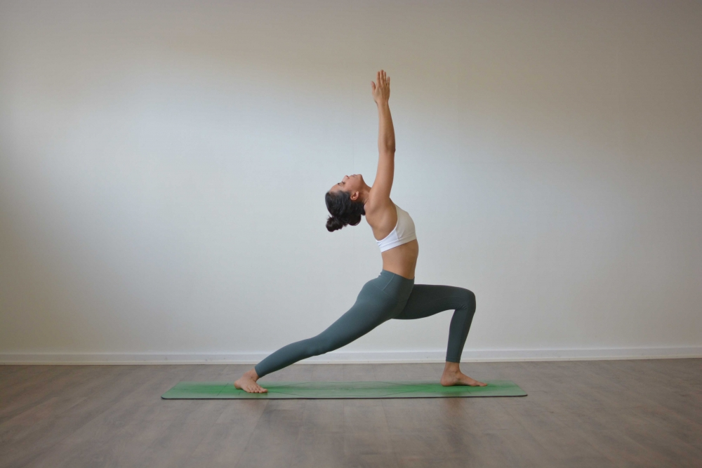 Virabhadrasana One - ashtanga yoga primary series