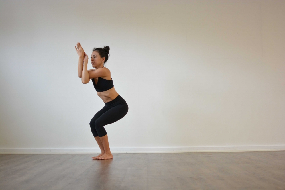 eagle pose yoga