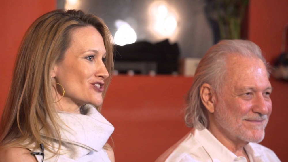 Ishta yoga founders Sara and Alan Finger